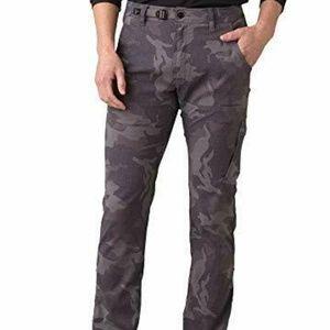 prAna Zion Gravel Camo Gray Pants Men's Size 40X30